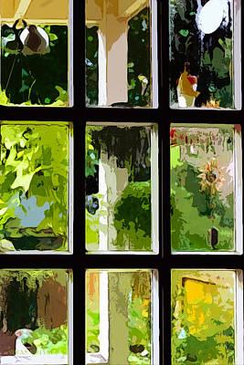 Photograph - Back Door by Susan Vineyard