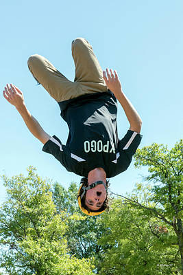 Photograph - Back Flip From A Pogo Stick by Brian Wallace