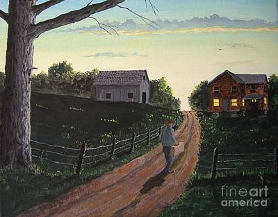 Painting - Back Home Again by Norm Starks
