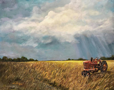 Painting - Back Home by Alan Lakin