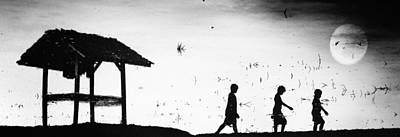 Child Photograph - Back Home by Jay Satriani