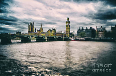 Back In London Art Print by Alessandro Giorgi Art Photography