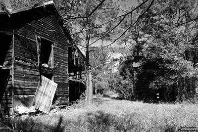 Photograph - Back In The Day Black And White by Lisa Wooten