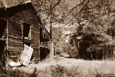Photograph - Back In The Day Sepia by Lisa Wooten