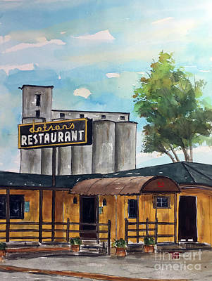 Painting - Back In The Day by Tim Ross