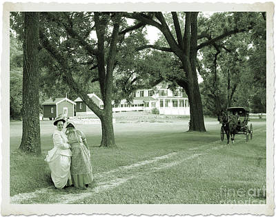 Photograph - Back In Time At Hardman Farm by Nicole Angell