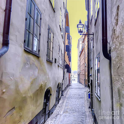 Stockholm Photograph - Back In Time by GabeZ Art