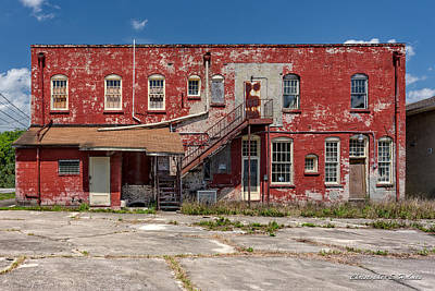 Art Print featuring the photograph Back Lot by Christopher Holmes