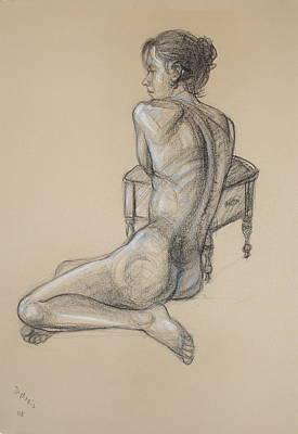 Back Nude 2 Art Print