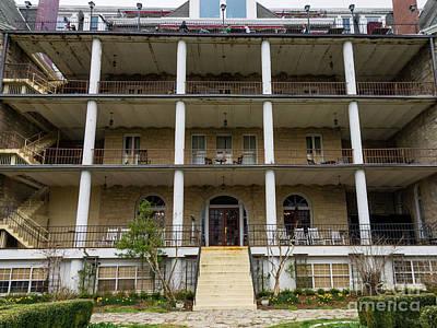Photograph - Back Of Crescent Hotel by Jennifer White