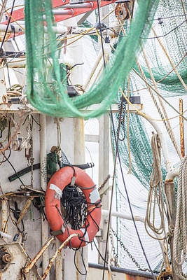 Photograph - Back Of The Shrimp Boat  by John McGraw