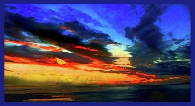Moonlit Mixed Media - Back Of The Moon. by Pat Szalay