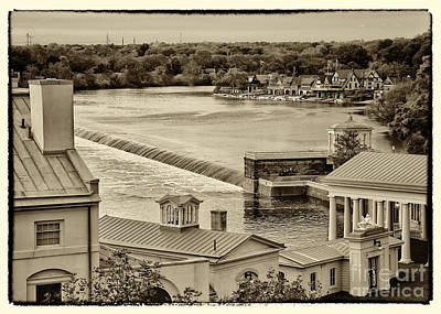 Back Of Water Works Art Print by Jack Paolini