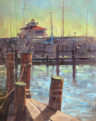 Wall Art - Painting - Back On The Choptank by Patrick Saunders