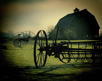 Barn Digital Art - Back On The Farm by DMSprouse Art