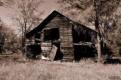 Photograph - Back On The Farm Sepia by Lisa Wooten