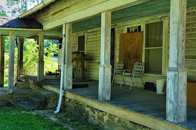 Photograph - Back Porch 1 by Kathryn Meyer
