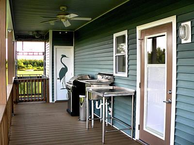 Photograph - Back Porch South View by Kathy K McClellan