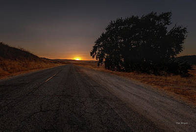 Photograph - Back Road From Bradley by Tim Bryan
