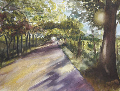 Back Road To Home Art Print