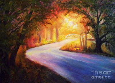 Karen Chatham Art Painting - Back Road To Paradise by Karen Kennedy Chatham