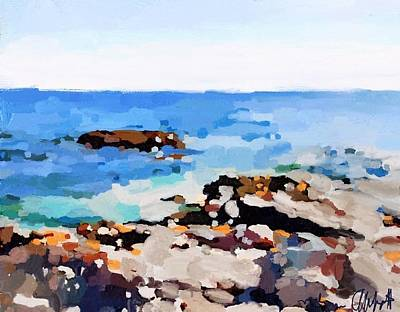 Back Shore, Gloucester, Ma Art Print