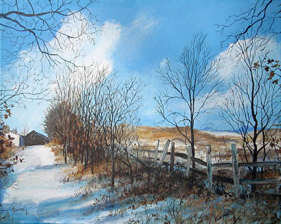Painting - Back Slope by William Brody