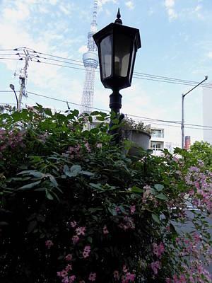 Back Street In Tokyo Art Print