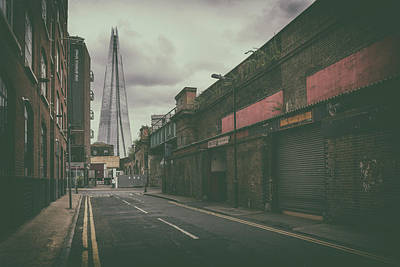Photograph - Back-street Shard by James Billings
