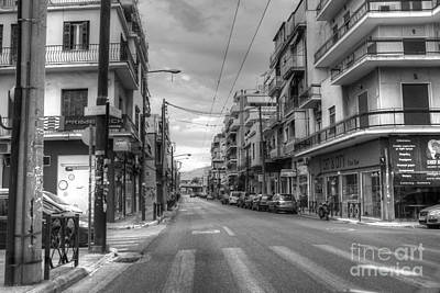 Photograph - Back Streets Of Athens by Vicki Spindler