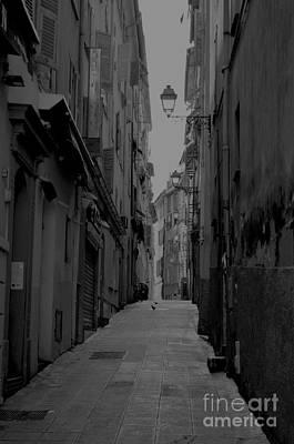 Back Streets Of Nice Print by Steven Brennan