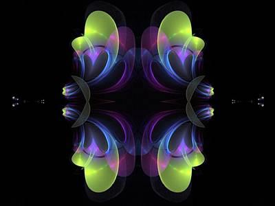 Digital Art - Back To Back by Nancy Pauling