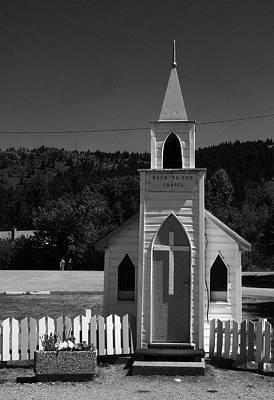 Photograph - Back To God Chapel by David Pantuso