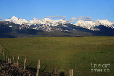 Photograph - Back To Mission Mountains by Katie LaSalle-Lowery