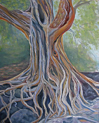 Painting - Back To My Roots by Lisa Barr