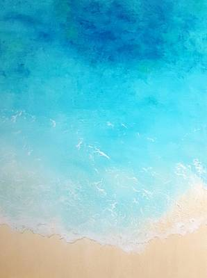 Painting - Back To The Beach by Karyn Robinson