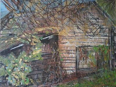 Shed Mixed Media - Back To The Earth by Sue Williams