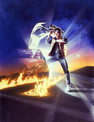 Back To The Future 1985 Art Print