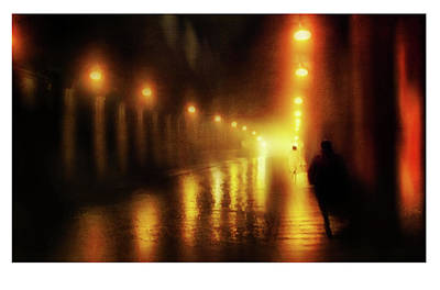 Back To The Past. Alley Of Lights. Ltd Edition Of Only 3 Fine Art Giclee Prints Original