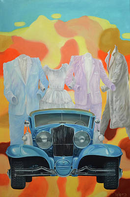 Bondi Painting - Back To The Past by Yelena Revis