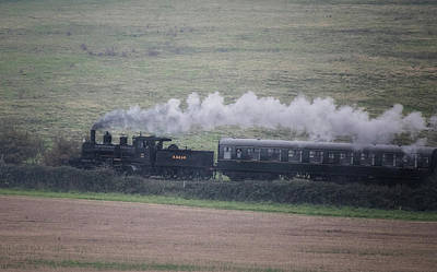 Transportation Royalty-Free and Rights-Managed Images - Back to the Steam Days by Martin Newman