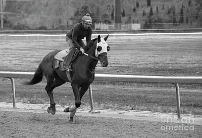 Photograph - Back Track Workout by David Bearden