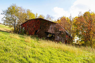 Photograph - Back When Barn by Jennifer White