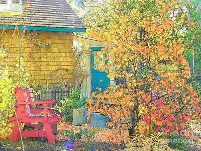 Photograph - Back Yard by Lisa Dunn