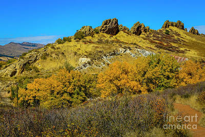 Photograph - Backbone Autumn by Jon Burch Photography