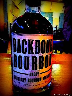 Digital Art - Backbone Bourbon by Wesley Nesbitt