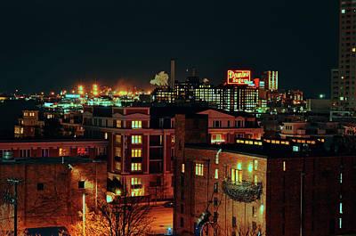 Photograph - Backdrop Of Baltimore City by La Dolce Vita