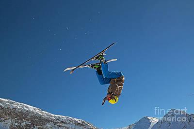 Backflip Photograph - Backflip by Christian Hallweger