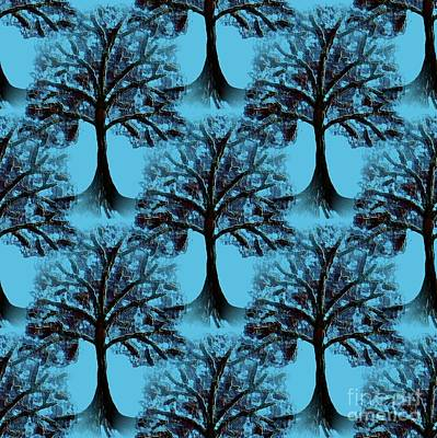 Digital Art - Background Choice Orchard 2 by Barbara Moignard