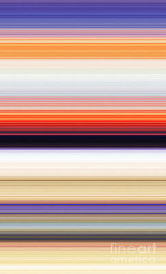 Multicolored Digital Art - Background Iv by Alex Caminker